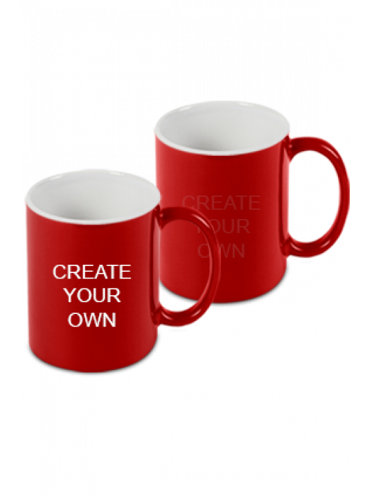 Design Your Own Red Magic Mug