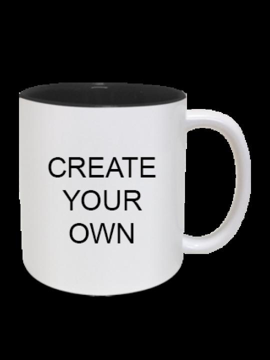 Inside Black Mug - Business