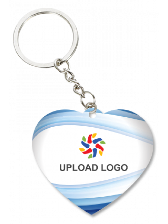 Promotional Soothing Heart Key Chain