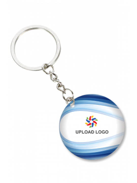 Soothing Round Key Chian