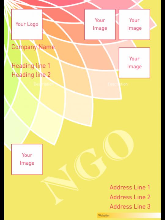 Sunlit Yellow NGO Poster