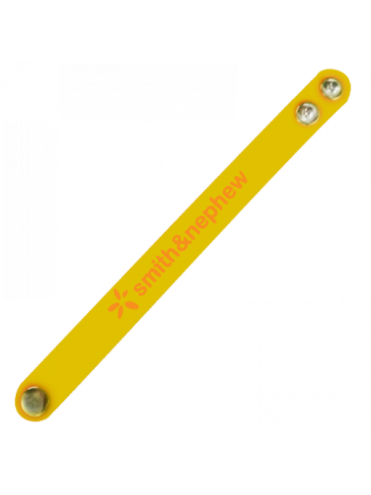 Starburst Yellow Wrist Band
