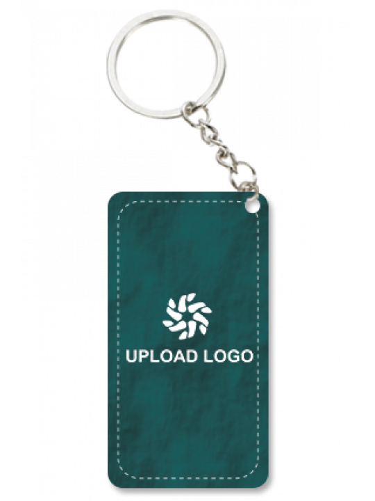 Promotional Teal Green Key Chain