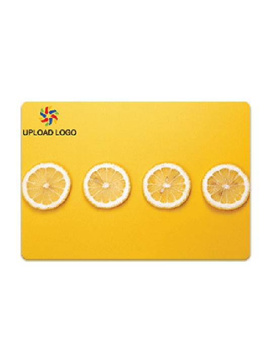 Customised Citrus Orange Table Mat