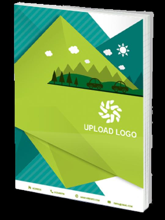 Effit Green Business Notebook