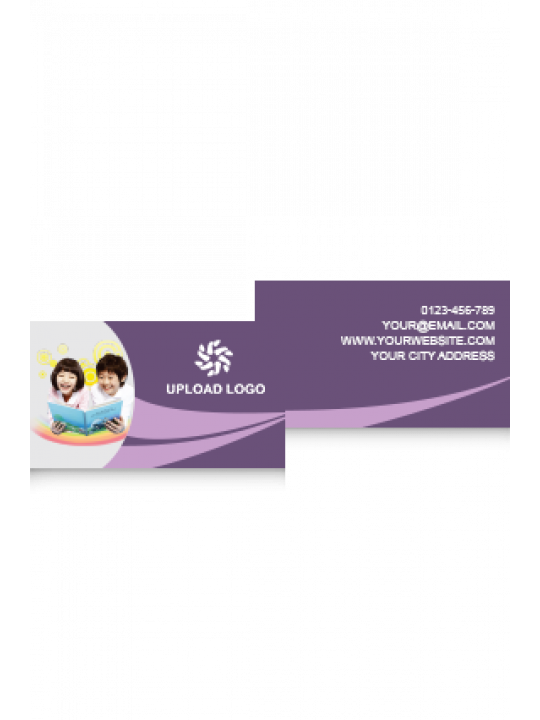 Business Card | Purple Color Card