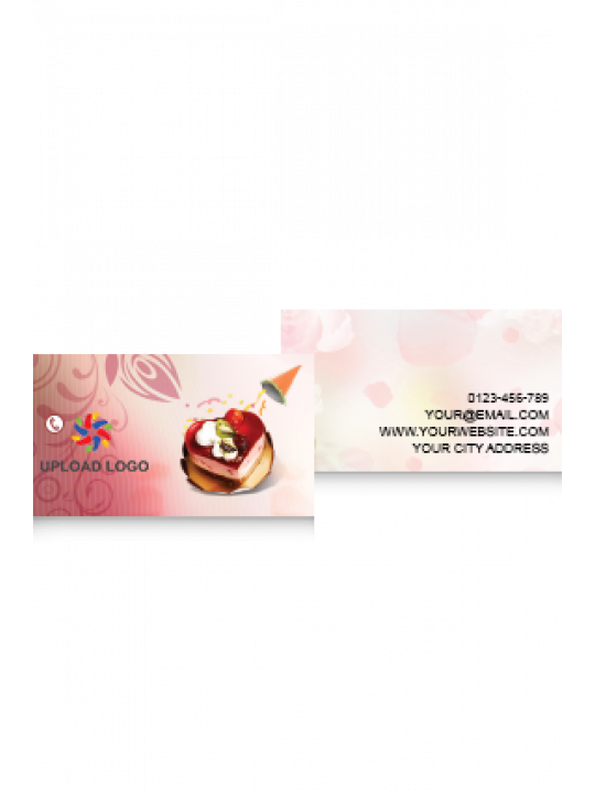 Pink Pattern Card