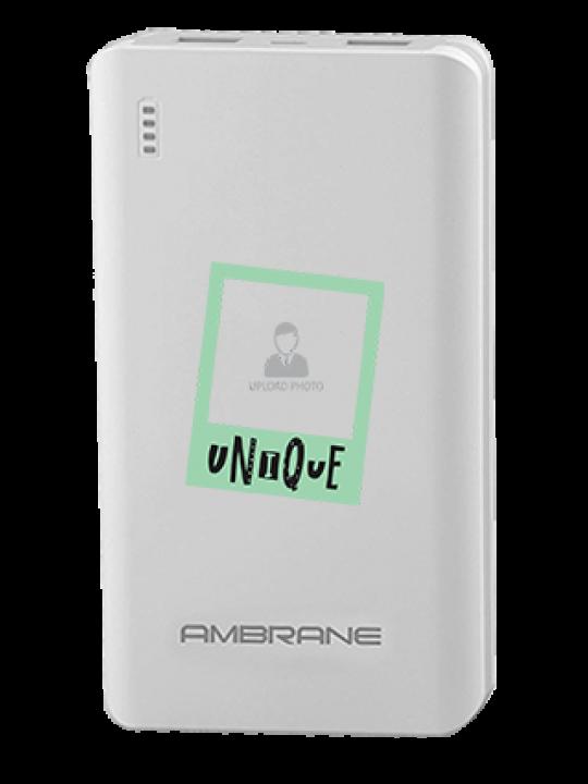 Unique Ambrane PP-2000 -20000mAh Power Bank White