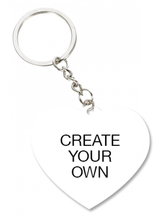 Heart Shape Key Ring - Business
