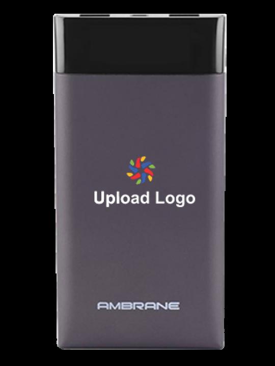 Upload Logo 15000mAh Power Bank Grey