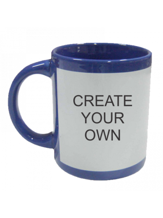 Patch Mug Blue- Business