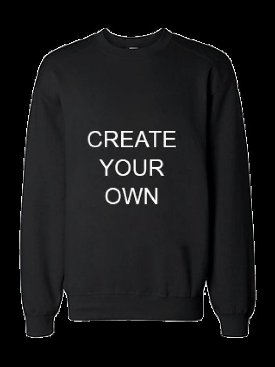 Create Your Own Black Sweatshirt