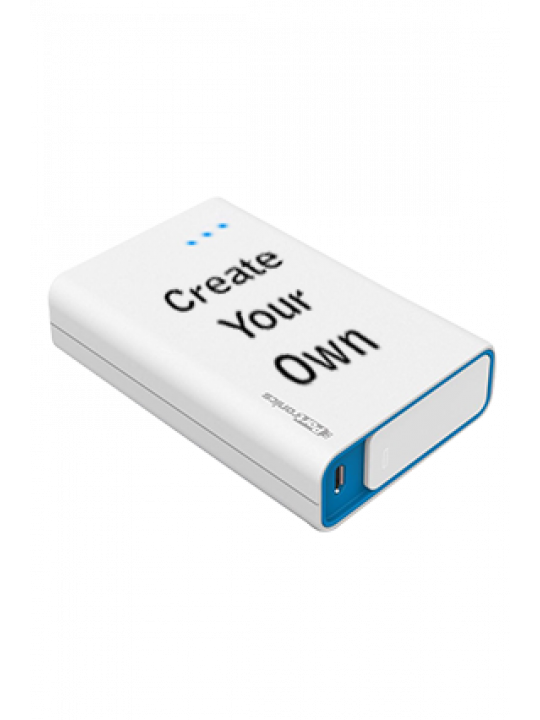 Create Your Own M Plus 10000mAh Portronics Power Bank White