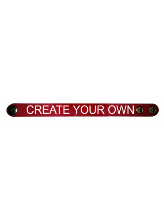 Red Wrist Band- Business