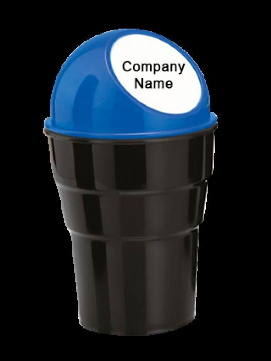 Car Trash Holder Dustbin (Fits In Car Cup Bottle Holder)-E205