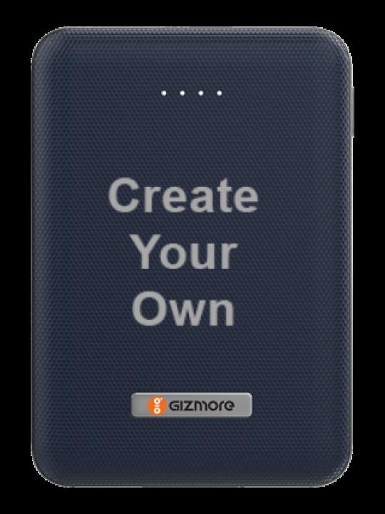 Create Your Own-Gizmore Power Bank 10000mah (Li-Poly) Giz Pb10Kp