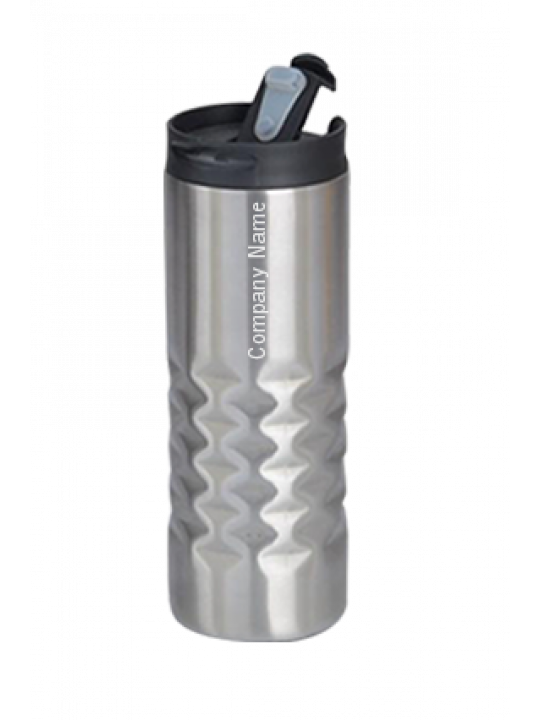 Business Hammered Steel Flask Inside Steel GM-223