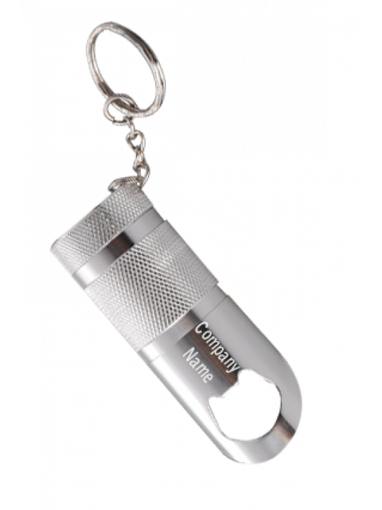 Key Chain With 6 LED Torch And Opener J26