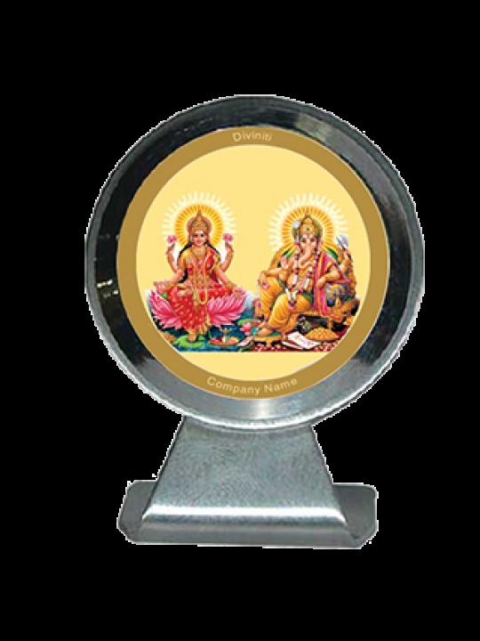 Premium Laxmi Ganesh Car Frame Mcf 1Cr