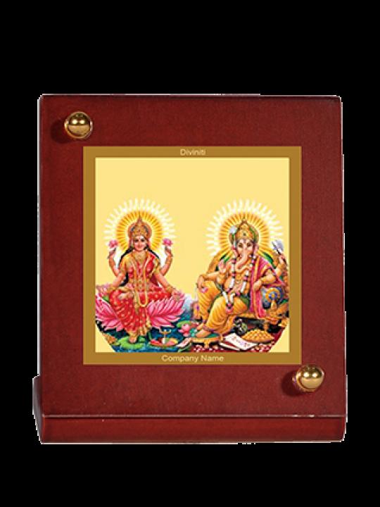 Printed Laxmi Ganesh Car Frame Mdf 1B