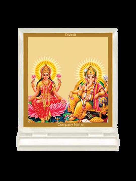 Custom Laxmi Ganesh Car Frame Acf3 size 1