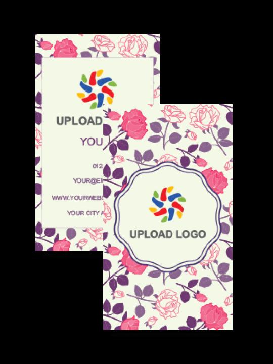 Floric Vertical Business Card