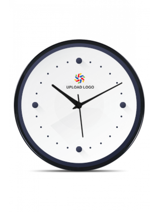 Simple Black Frame Clock