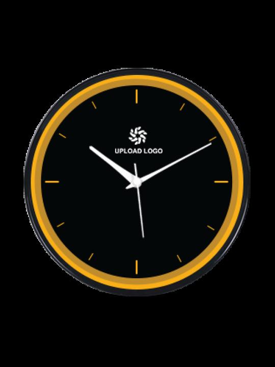 Crazy Black Frame Clock