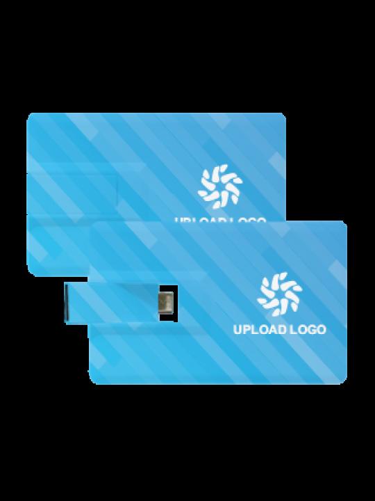 Blued OTG Credit Card Pen Drive (8 GB)