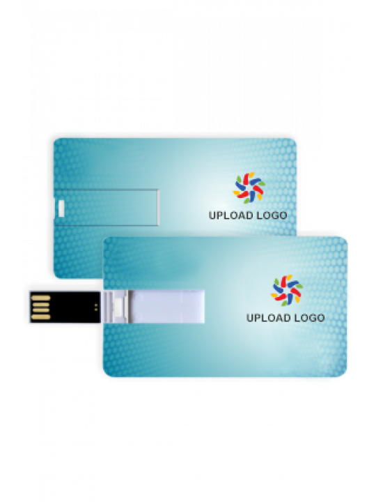 Dotted Blue Business Pen Drive (8, 16, 32 GB)