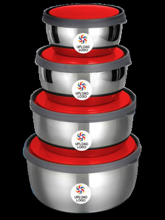 Upload Logo Stainless Steel Bowl H-66