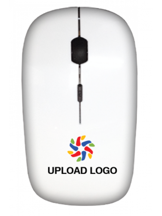 Upload Logo Wireless Mouse