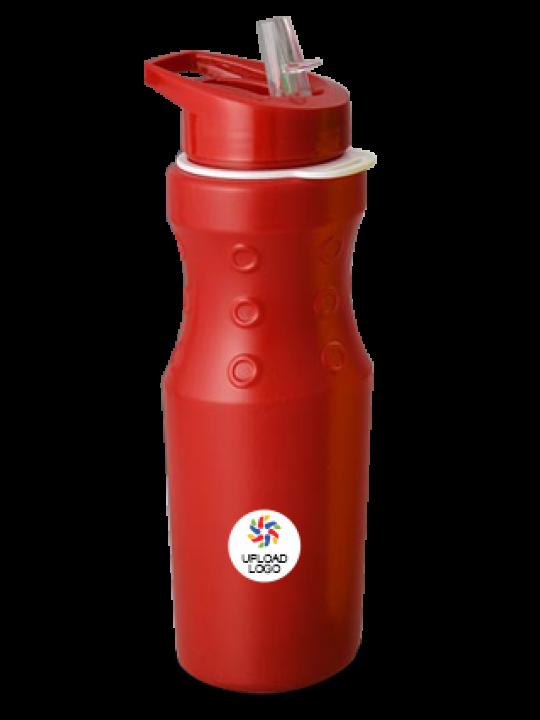 Upload Logo Ringo Water Bottle H76 Red