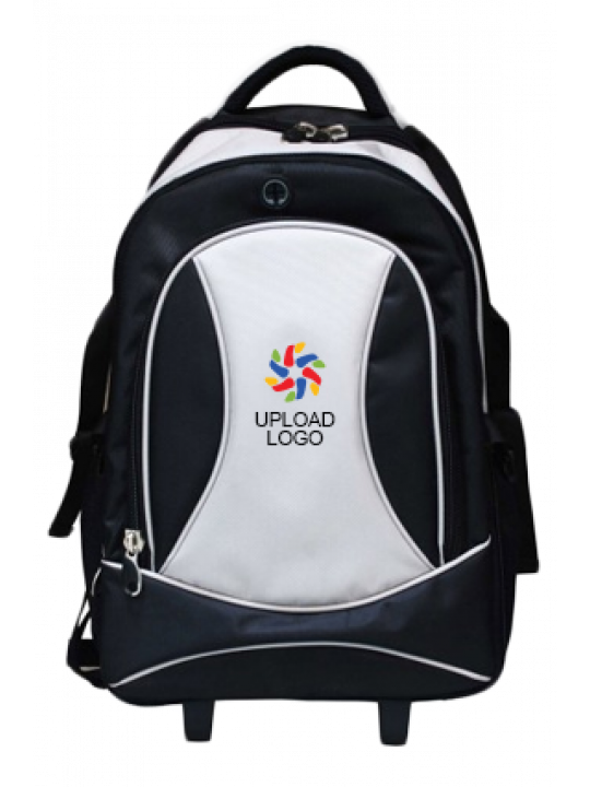 Upload Logo Luxury Strolley Backpack E-121