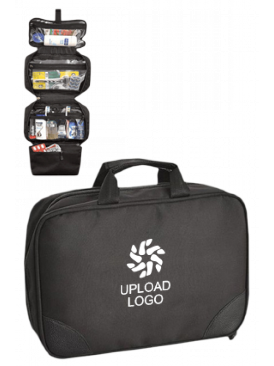 Upload Logo 4 Layer Toiletry Kit E-122