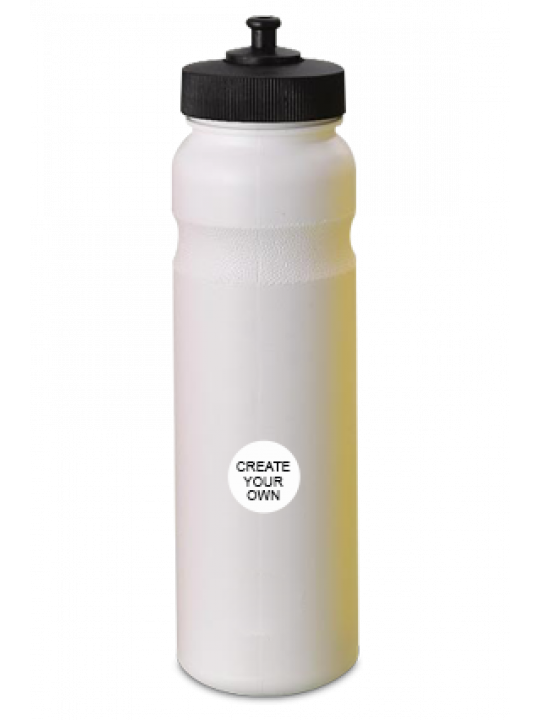 Gippy Small Water Bottle H75 White