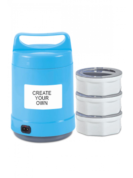 Create Your Own Electro Power Plastic Lunch Box H103