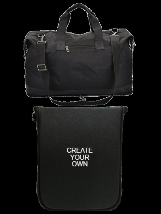 Folding Leatherette travel bag E-131