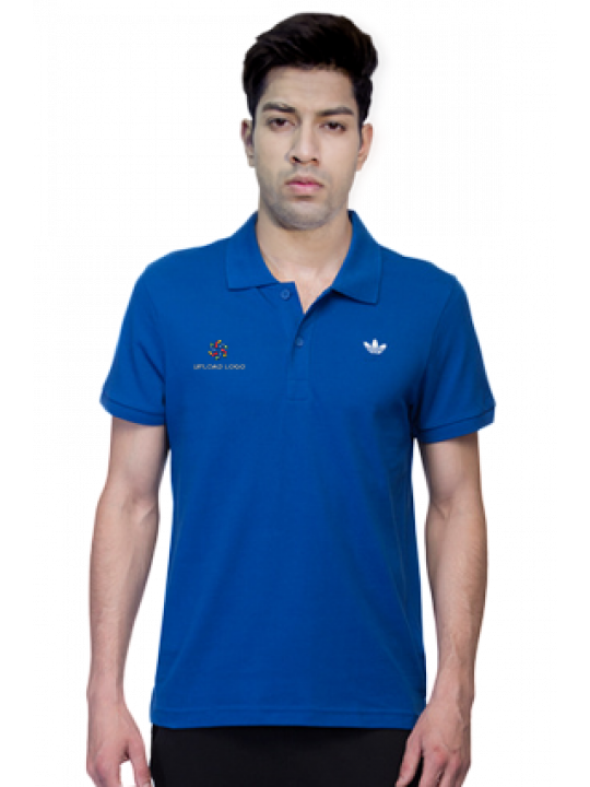 Premium Adidas - Embroidery Polo Conavy Training T-Shirt - AH9116