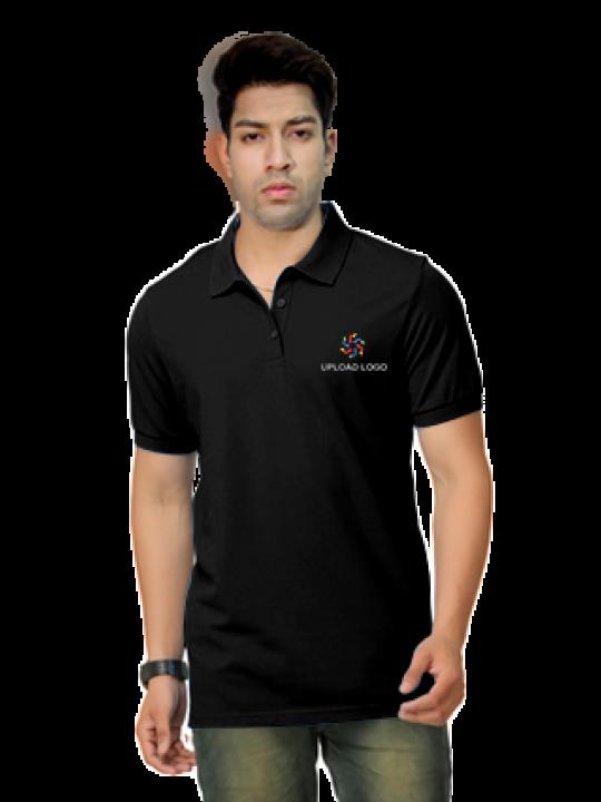 Customize Umbro- Embroidery Polo Black T-Shirt - 1000627400002