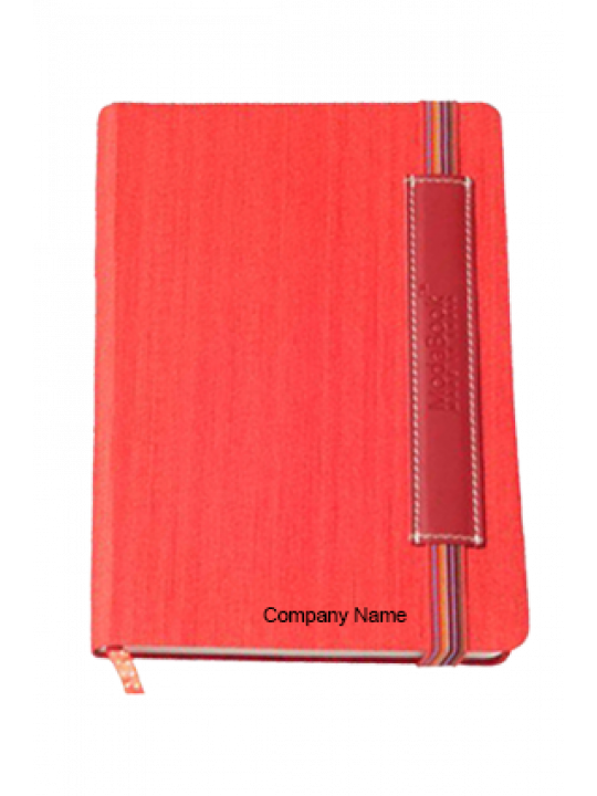 Hard Cover Premium Leatherite Red Color Notebook X315