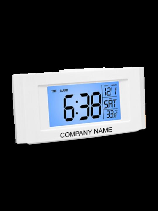 Vista Back Light Clock With Temperature - A102