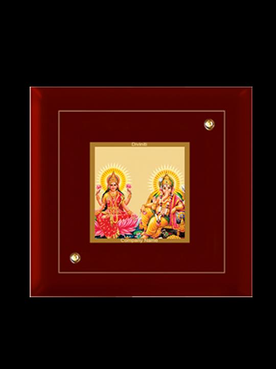 Customized Laxmi Ganesh Frame Mdf - 1A