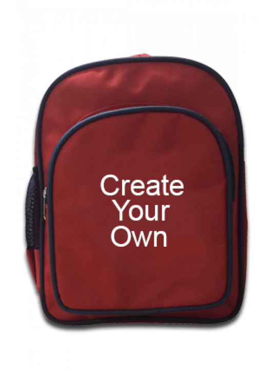 School Bags (Red) - Business