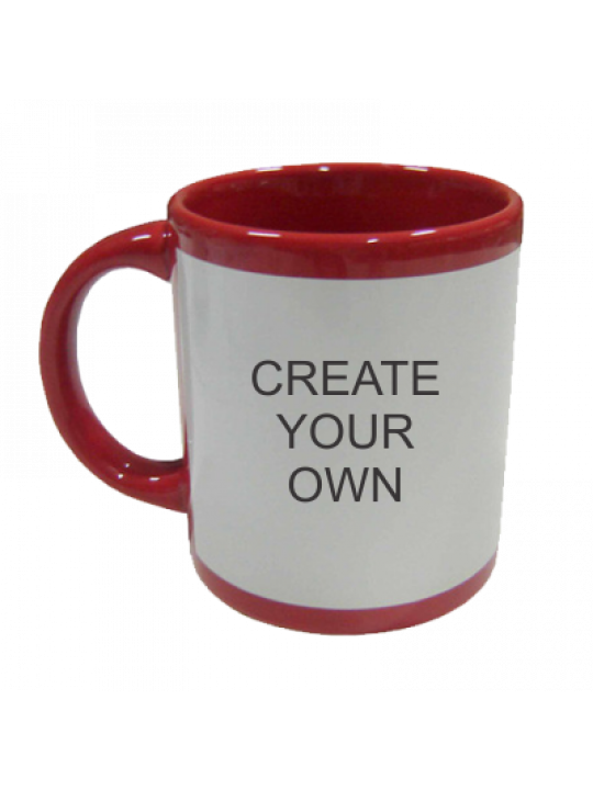Patch Mug Red- Business