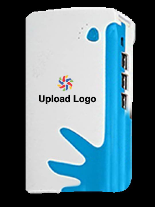 Upload Logo 10400mAh Power Bank White