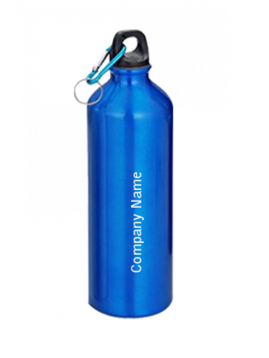 Sports Water Bottle With Carabiner GM-007 Blue