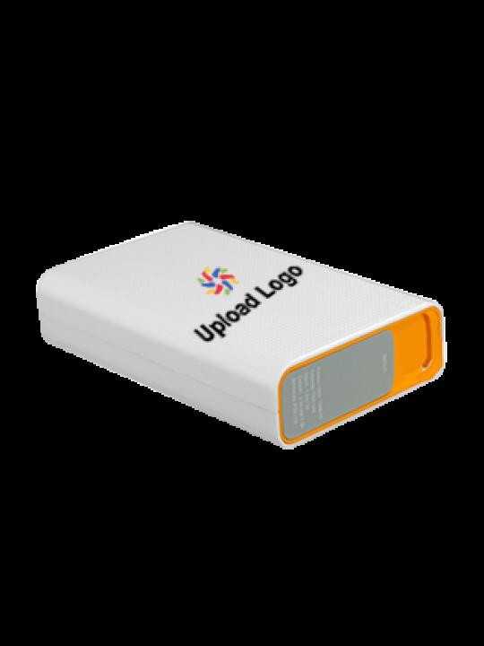 Promotional Upload Logo 7800mAh Portronics Power Bank Orange