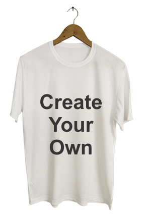 Create Your Own White T-Shirt