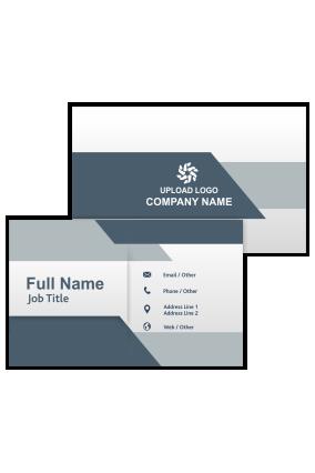 Designer Personalized Bank Visiting Card